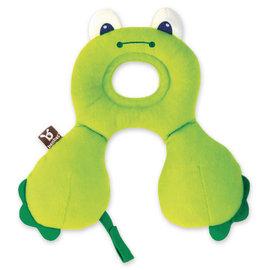 【紫貝殼】『BE01』【以色列Benbat】寶寶旅行頸枕/頭枕 適用0-1歲 青蛙【保證公司貨●品質有保證●非水貨】