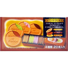 112^~ ^~夢野^~四種綜合口味法蘭酥20枚