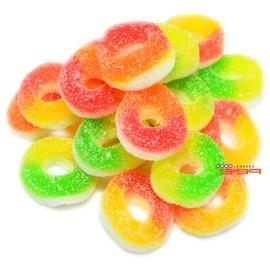 【吉嘉食品】綜合迷你圈QQ糖(散)/軟糖 400公克89元,另有水果糖,乖乖軟糖{RU0026:400}