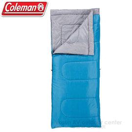【美國 Coleman】Performer C15 表演者睡袋15度C.信封型睡袋.輕量化纖睡袋(700g)/可機洗.附收納袋.可當棉被.睡墊 /CM6933 藍