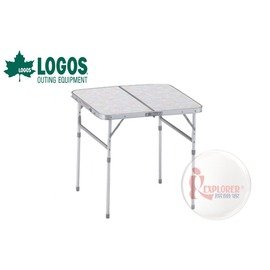 探險家戶外用品㊣NO.73180007 日本品牌LOGOS 2FD 60*60cm折合桌 摺疊桌/折疊桌/置物桌/摺合桌/休閒桌6060