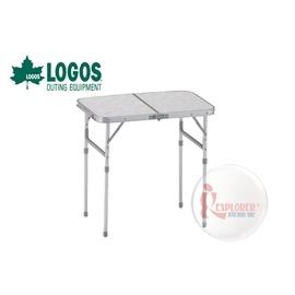 探險家戶外用品㊣NO.73180008 日本品牌LOGOS 2FD 60*40cm折合桌 摺疊桌/折疊桌/置物桌/摺合桌/休閒桌6040
