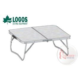 探險家戶外用品㊣NO.73180009 日本品牌LOGOS 2FD 48*40cm折合桌 摺疊桌/折疊桌/置物桌/摺合桌/休閒桌4840