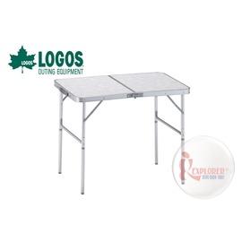 探險家戶外用品㊣NO.73180013 日本品牌LOGOS 2FD 90*60cm折合桌 摺疊桌/折疊桌/置物桌/摺合桌/休閒桌9060