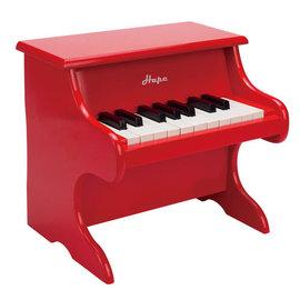 【紫貝殼】『CLA27』德國Hape愛傑卡 音樂系列-音樂小鋼琴-紅.兒童樂器.3歲.新品