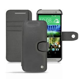 NOREVE HTC One M8 側掀式支架真皮皮套 皮革保護套 保護殼 手機套 手工訂製 法國頂級手機皮套 5種設計50種以上顏色