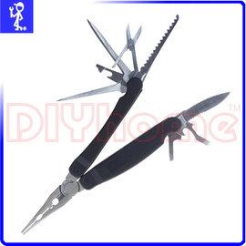 多 釣魚鉗 折疊式 ^(附起子.剪刀.鋸子.小刀.開瓶器等 ^) J900155