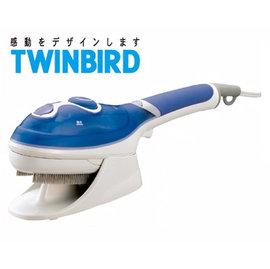 ◤贈精美購物袋◢ 日本TWINBIRD 手持式蒸氣熨斗(粉藍) SA-4084TW