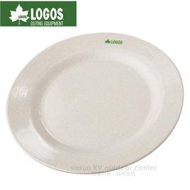 【日本 LOGOS】愛地球20cm環保餐盤/天然材質.環保無污染/適合露營.登山.野餐.郊遊等/LG81285009