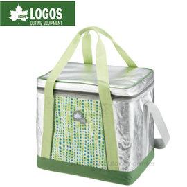 【日本 LOGOS】SINSUL10軟式保冷提箱25L.保冷袋.軟式保冰袋.保溫袋.行動冰桶.保冰保鮮冰箱//81670410 綠