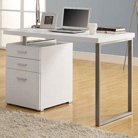 電腦桌^(白色^) 書桌 辦公桌 工作桌 會議桌 電腦椅 主管桌  DIY 傢俱