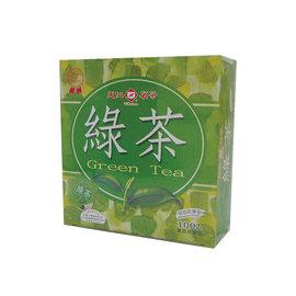 天仁綠茶茶包紙袋防潮100入200g
