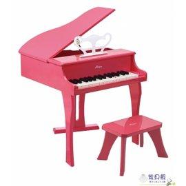 【紫貝殼】『CLA29』德國Hape愛傑卡 音樂系列-音樂大鋼琴-粉紅.兒童樂器