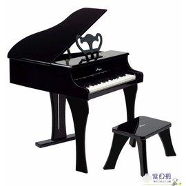 【紫貝殼】『CLA29-1』德國Hape愛傑卡 音樂系列-音樂大鋼琴-黑.兒童樂器.3歲.新品