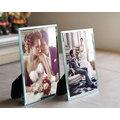 水晶玻璃相框7寸A4 相架擺台影樓婚紗兒童歐式相框