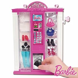 ◤ ↘71折◢MATTEL 芭比 自動販賣機^(Y8845^)