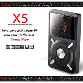 弘達影音多媒體 FiiO X5專業隨身Hi-Fi音樂播放器Sennheiser/AKG/鐵三角(AUDIO-TEC)等高階耳機都可使用
