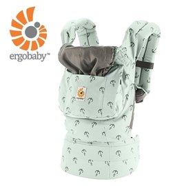 【紫貝殼】『BA02』美國Ergo Baby ergobaby Carrier爾哥寶寶揹帶/揹巾/背巾(原創*艦隊) 【贈KA09美國製醫療香草奶嘴3顆】