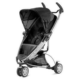 【紫貝殼●展示出清】【紫貝殼】『GAA03-7』新款 Quinny Zapp Xtra 2 手推車 銀框黑 (座椅可以雙向角度調整、座椅直接收折)【公司貨】