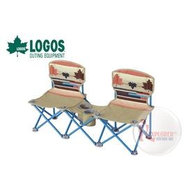探險家戶外用品㊣NO.73170018 日本品牌LOGOS 印地安雙人野營椅 情人椅親子椅對對椅雙人椅