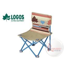 探險家戶外用品㊣NO.73170019 日本品牌LOGOS 印地安野營椅 休閒椅 導演椅 兒童椅 折疊椅