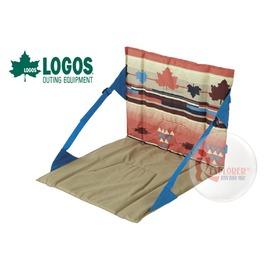 探險家戶外用品㊣NO.73173021 日本品牌LOGOS 印地安和室椅 軟墊椅坐墊椅墊折合椅和式椅