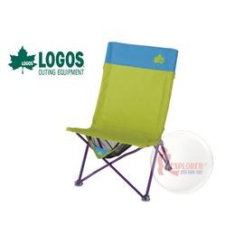 探險家戶外用品㊣NO.73174017 日本品牌LOGOS RELAX書報休閒椅 平板電腦椅摺疊椅 (無扶手)