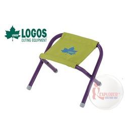 探險家戶外用品㊣NO.73175019 日本品牌LOGOS STOOL-N迷你凳綠 小板凳折凳童軍椅兒童椅