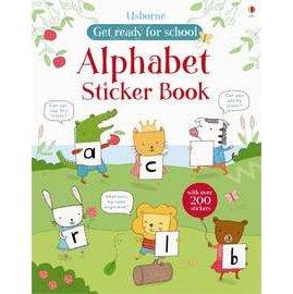 ~字母練習貼紙書~ALPHABET STICKER BOOK