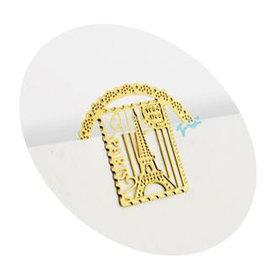 (特賣)創意 金屬書籤夾~甜美巴黎鐵塔 ◇/書夾/金屬書簽/創意禮品/婚禮小物
