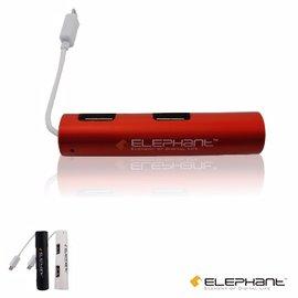 ELEPHANT OTG複合式多 轉接器 4個USB埠 ^(OTG001OG^)橘