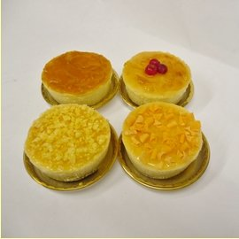~ 金礦核桃香柚乳酪杯子蛋糕 ~4入盒  OREO核桃餅乾底 韓國香柚茶