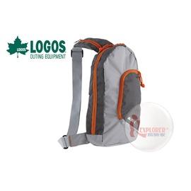 探險家戶外用品㊣NO.88250112 日本品牌LOGOS 斜背包4L灰 (多色可選 單款販售) 休閒包單車包