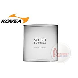探險家戶外用品㊣TKL961~L德國製KOVEA 瓦斯燈玻璃燈罩 玻璃罩 ^( TKL~9