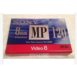 Sony 8mm MP 120 Video8 Camcorder hi8 錄影帶