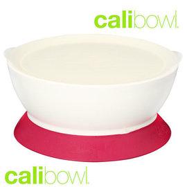 『DBA20』美國Calibowl專利防漏學習吸盤碗12oz附蓋-粉)【保證公司貨●品質有保證】