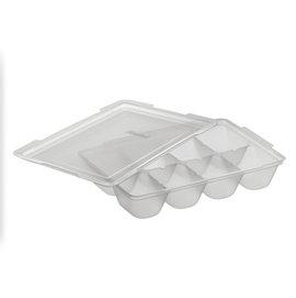 Richell 離乳食連裝盒25ML  8格