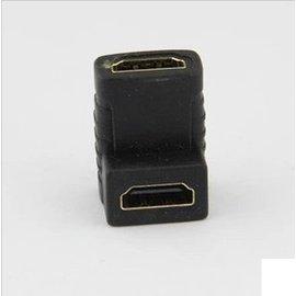 HDMI 母轉母 轉接頭/延長器/延長頭 (90度彎頭)