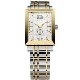 ~BURBERRY ~英國倫敦 雙色金鋼帶 男士腕錶BU1324