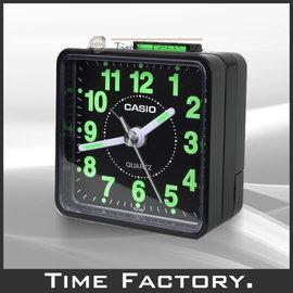 時間工廠~ CASIO 復古風 超強夜光小鬧鐘 TQ~140~1