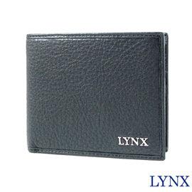 ~Lynx~俐落簡約男用5卡短夾 ^(黑色^) LY16~2001~99