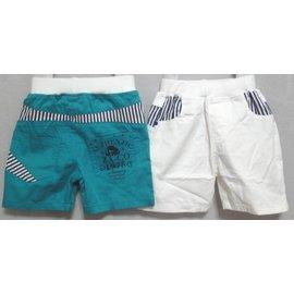 ~可 男童 ~海洋風帥氣小短褲 ~ ~ ~棉質~家居~舒適~ ~排汗~透氣~保暖~動物~