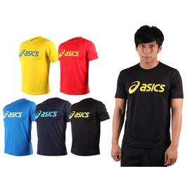 ASICS LOGO 男短袖T恤(慢跑 路跑 亞瑟士 免運【03311650】≡排汗專家≡