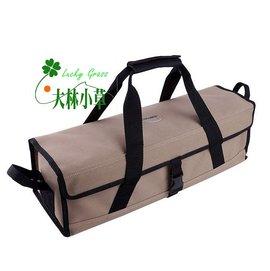 大林小草~【BG-7493】山林者GoPace硬式萬用帆布工具袋(L號)營釘袋 營釘盒 攜型袋