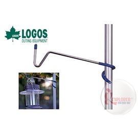 探險家戶外用品㊣NO.71907001 日本品牌LOGOS Q SET不鏽鋼營燈掛勾 V型吊燈勾 掛燈勾 掛鉤吊燈鉤