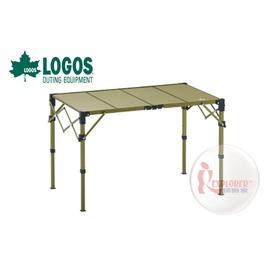 探險家戶外用品㊣NO.73186505 日本品牌LOGOS Premium 金牌 碳纖維Carbon10060折合桌 蛋捲桌