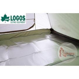 探險家戶外用品㊣NO.73832812 日本品牌LOGOS TENT SOLO PE鋁箔睡墊地墊 205*95 內墊 防潮墊 鋁箔墊