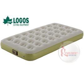 探險家戶外用品㊣NO.73853001 日本品牌LOGOS 兩分電動充氣床墊100 (101*188) 充氣睡墊充氣墊露營