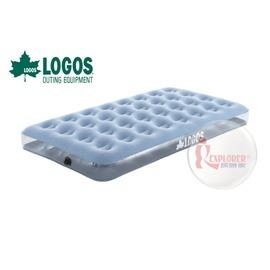 探險家戶外用品㊣NO.73853043 日本品牌LOGOS OMNI充氣床墊100 (101*188) 充氣睡墊充氣墊露營