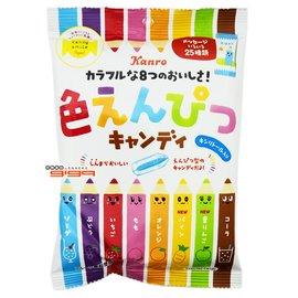 【吉嘉食品】甘樂 8味鉛筆糖 1包80公克70元{4901351018286:1}